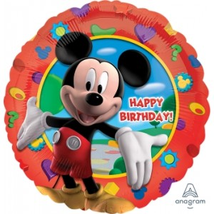 """Anagram Foil - 17"""" Mickey's Clubhouse Birthday , A-S60-14055"""