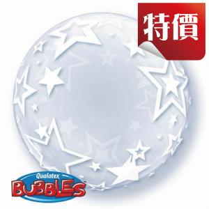 "Deco Bubble 24"" Stylish Stars (Pkgd.), QBDECO-42671"