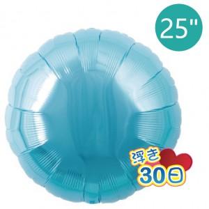 "Ibrex Round 25"" 圓形 Metallic Light Blue (Non-Pkgd.), TKF25RP231108"