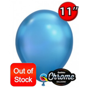 "11"" Chrome Blue , QL11RC58272 (25) (Out of Stock)"