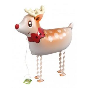 SAG Walking Balloon - Reindeer  鹿_金色角 (non-pkgd.), SAG-W8842