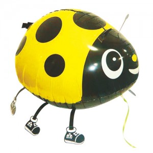 SAG Walking Balloon - LadyBug/Yellow 黃色小甲蟲 (non-pkgd.), SAG-W8831