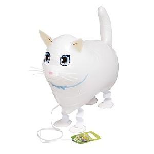 SAG Walking Balloon - White Cat 小白貓 (non-pkgd.), SAG-W8851