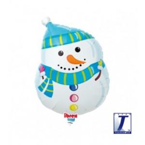 "Ibrex Shape 15"" 型狀 Winter Snowman (Non-Pkgd.), TKF15SI310451"