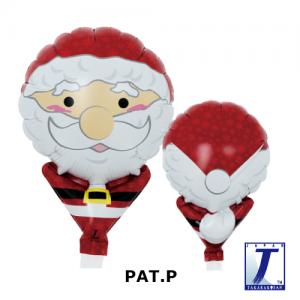 "Upright Balloon 5""/ Printed_Ho Ho Ho Santa Claus (Non-Pkgd.), TK-UPB-I810532 <10 個/包>"