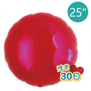 "Ibrex Round 25"" 圓形 Metallic Red (Non-Pkgd.), TKF25RP231101"