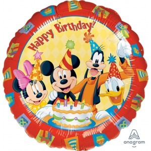 "Anagram Foil - 17"" Mickey & Friends Happy Birthday , A-S60-09223"