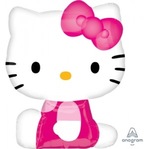 Anagram Foil - Hello Kitty Side Pose , A-P38-21753