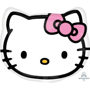 Anagram Foil - Hello Kitty Head , A-S60-21842