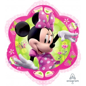 "Anagram Foil - 18"" Minnie / Flower shape (pkgd.) , A-S60-26437"