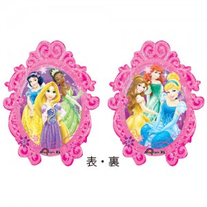 Anagram Foil - Princesses Frame (Super Shape) , A-P38-27149