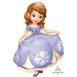 Anagram Foil - Sofia the First Pose (Super Shape) , A-P38-27531