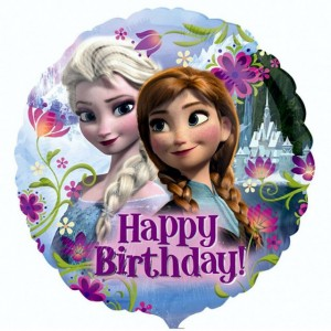 "Anagram Foil - 17"" Frozen Happy Birthday , A-S60-29009"
