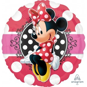 "Anagram Foil - 17"" Minnie Potrait (pkgd.), A-S60-30647"