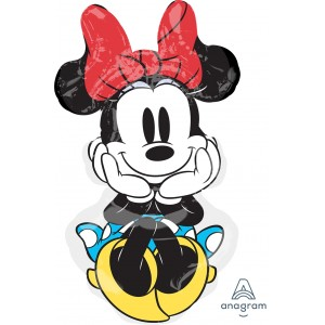 Anagram Foil - Minnie Rock the Dots (Super Shape) , A-P38-33124