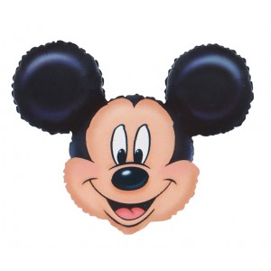 "Anagram Foil - 27"" Mickey Mouse Head (Super Shape) , A-P35-07764"