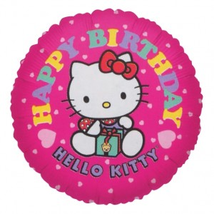 "Anagram Foil - 17"" Hello Kitty Birthday (pkgd.) , A-S50-02510"