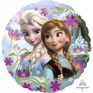 """Anagram Foil - 17"""" Frozen Anna & Elsa , A-S60-30197"""