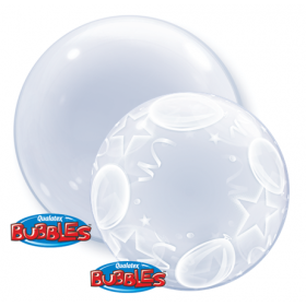 Deco Bubble - Clear / Printed