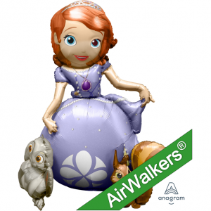 Anagram Foil - Sofia the First / Air Walkers® (pkgd.) , A-P93-28317