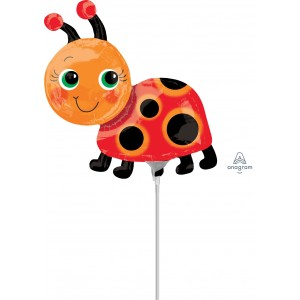 Mini Shape Foil Miss Lady Bug A-A30-37097