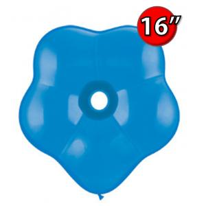 "Blossom 16"" 花瓣形 Std Dark Blue (25ct) , QL16BS18755 (0)"