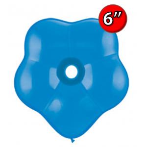 "Blossom 6"" 花瓣形 Std Dark Blue (50ct), QL06BS18629 (0)"