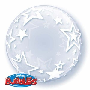 "Deco Bubble 24"" Stylish Stars , QBDECO-42671"