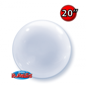 """Deco Bubble 20"""" - Clear (Pkgd.), QBDECO-68824"""