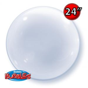 """Deco Bubble 24""""- Clear (Pkgd.), QBDECO-68825"""