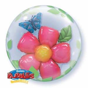 "Double Bubble 24"" Leaves Flower , QBD-68806"