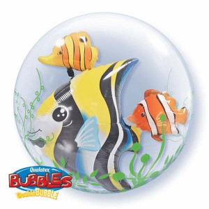 "Double Bubble 24"" Seaweed Tropical Fish , *QBD-68809"