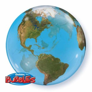 "Bubble 22"" Planet Earth (Pkgd.), QBB-16871 (0) <10 個/包>"