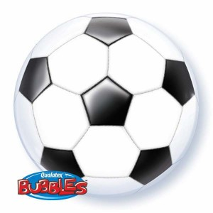 "Bubble 22"" Soccer Ball (Pkgd.), QBB-19064 (0) <10 個/包>"