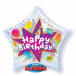 "Bubble 22"" Birthday Party Blast , *QBB-36765"