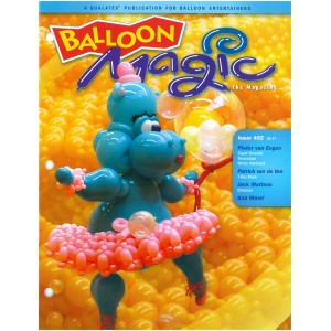 Balloon Magic - ISSUE #82 Qualatex , QE-82-45936