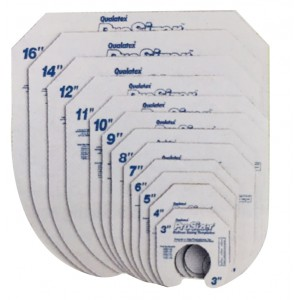 Qualatex ProSizer Templates (12 templates/set) , **QE19626