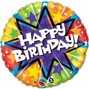 "18"" Foil Birthday Radiant (pkgd.) , *QF18RI11786"