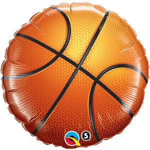 "18"" Foil Basketball - (pkgd.) , *QF18RI21812"