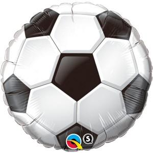"18"" Foil Soccer Ball (pkgd.), QF18RI71597 (0) <10 個/包>"