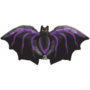 "44"" Foil Gothic Bat , #QF44SI32071"