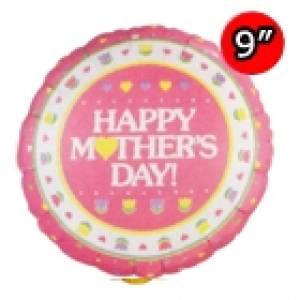 "9"" Foil Mother's Day (Silver Back) / Air-fill , #QF09RI22549"