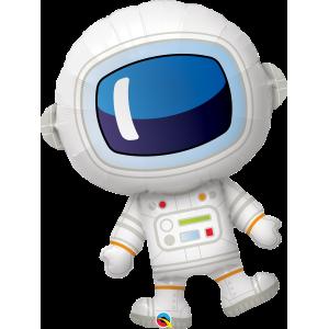 "37"" Foil Adorable Astronaut (non-pkgd.), QF37SI87963 (0) <10 個/包>"