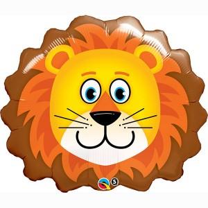 """29"""" Foil Lovable Lion - (pkgd.) , *QF29SI16154"""