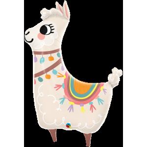 "45"" Foil Loveable Llama  (non-pkgd.), QF45SI85911 (0) <10 個/包>"