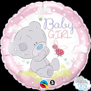 "18"" Foil Tiny Tatty Teddy Baby Girl (pkgd.) , *QF18RI28170"