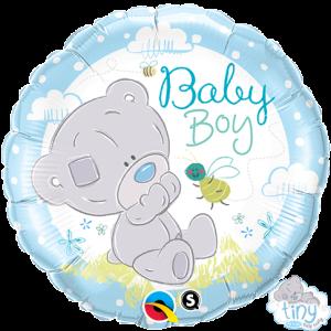 "18"" Foil Tiny Tatty Teddy Baby Boy (pkgd.) , *QF18RI28172"