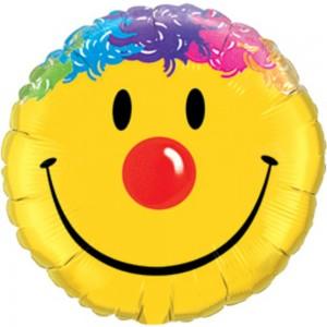 "18"" Foil Smile Face (pkgd.), QF18RI26046 (0) <10 個/包>"