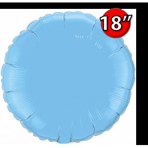 """Foil Round 18""""  Pale Blue (Non-Pkgd.), QF18RP12908 (0) <10 Pcs/包>"""