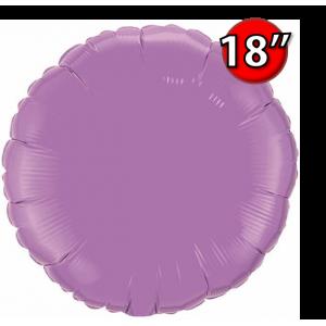 """Foil Round 18""""  Spring Lilac (Non-Pkgd.), QF18RP12911 (0) <10 Pcs/包>"""